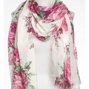 BETSEY FLORAL SCARF